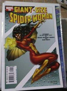 GIANT SIZED SPIDER-WOMAN  # 1 2005 MARVEL  JESSICA DREW   BRIAN BENDIS XMEN