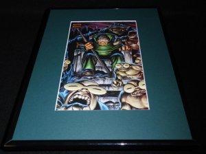 Moleman Marvel Masterpiece ORIGINAL 1992 Framed 11x14 Poster Display B