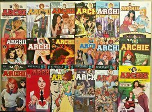 ARCHIE#2-19 VF/NM LOT 2015 (18 BOOKS) ARCHIE COMICS