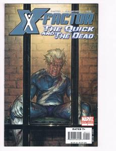 X-Factor The Quick And Dead # 1 NM Marvel Comic Book One-Shot Quicksilver S80
