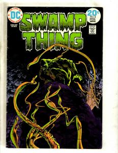 Swamp Thing # 8 FN DC Comic Book Horror Fear SIGNED By BERNI WRIGHTSON J371