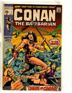 Conan The Barbarian # 1 FN/VF Marvel Comic Book Kull King Red Sonja Warrior RS1