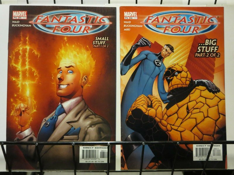 FANTASTIC FOUR 65-66 SMALL BIG STUFF 1-2 complete story