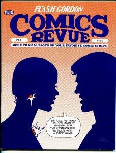 Comics Revue #54 1990-Dan Barry-Flash Gordon-Phantom-Modesty Blaise-VF