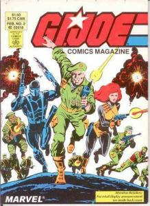 GI JOE DIGEST (COMICS MAGAZINE) 2 VF-NM Feb. 1987 COMICS BOOK