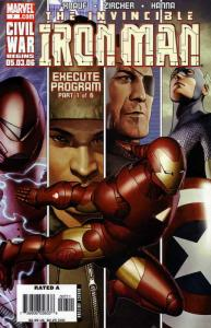 Iron Man (4th Series) #7 VF/NM; Marvel | save on shipping - details inside