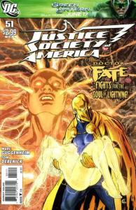 Justice Society of America (2007 series) #51, NM + (Stock photo)