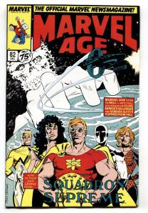 Marvel Age #82 First appearance of CABLE predates New Mutants 87.
