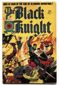 Black Knight #1 1953- Toby Golden Age comic-G