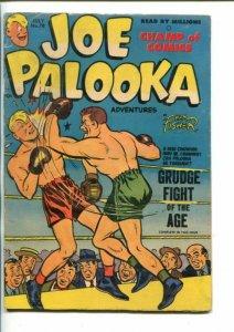 JOE PALOOKA  #78-1953-GRUDGE FIGHT-BOXING COVER-vg