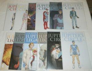 Jupiter's Circle vol. 1 #5,6; vol. 2 #1-6 Legacy vol. 2 #1,3-5 (set of 12)