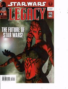Lot Of 2 Comic Books Dark Horse Star Wars Legacy #0 and Image Stormwatch #9 MS12