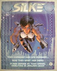 SILKE Promo poster,Tony Daniel, 17x22, 2000,  Unused, more Promos in store