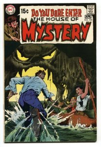 HOUSE OF MYSTERY #185 1969 DC ADAMS  WILLIAMSON  KALUTA- VF