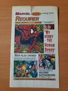 Marvel Requirer #4 Promo Todd McFarlane Spider-Man ~ FINE FN ~ 1990 Marvel