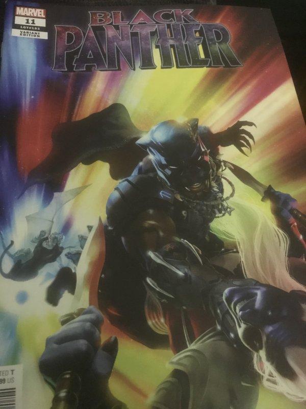Marvel Black Panther #11 Variant Mint