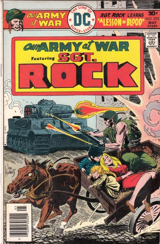 Our Army at War #292 (May-76) VF/NM High-Grade Easy Company, Sgt. Rock