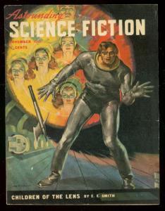 ASTOUNDING SCIENCE-FICTION NOV 1947-L RON HUBBARD-fine/very fine FN/VF