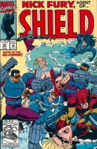 Nick Fury: Agent of SHIELD (1989 series) #35, NM- (Stock photo)