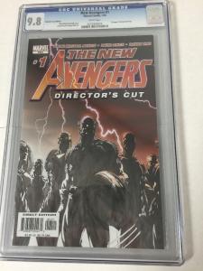 The New Avengers 1 Directors Cut Cgc 9.8 Sketch Variant