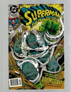 Superman Man Of Steel # 18 NM DC Comic Book Doomsday Batman Flash Aquaman SB5