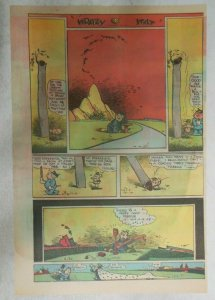 Krazy Kat Sunday by George Herriman from 6/20/1943 Tabloid Size Page
