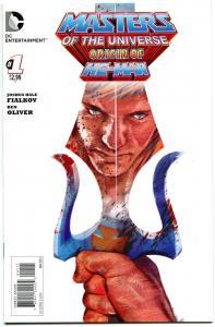 MASTERS of the UNIVERSE ORIGIN of HE-MAN #1, NM-, Layman, 2013, more in store