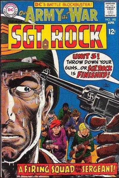 Our Army at War (1952 series) #192, VG+ (Stock photo)