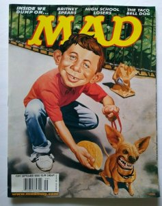 MAD Magazine Sept 2000 No 397 Britney Spears The Taco Bell Dog High Blondie