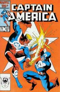 Captain America (1st Series) #327 VF; Marvel   save on shipping - details inside