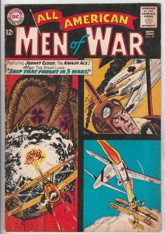 All-American Men of War #97 (Jun-63) FN/VF+ High-Grade Johnny Cloud