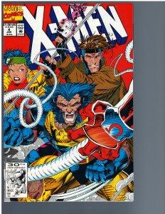 X-men #4 (Marvel, 1992) - Key 1st Omega Red