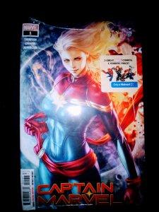 Captain Marvel #1 (WALMART variant)