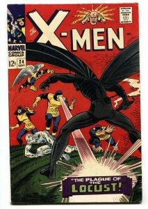 X-MEN #24 1966 marvel comic book silver-age FN/VF