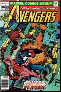 Avengers #156, 8.0 or Better - Dr. Doom Appearance