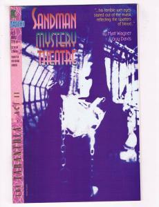 Sandman Mystery Theatre #2 FN DC Vertigo Comics Comic Book Wagner May 1993 DE36