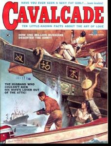 CAVALCADE 1960 APR-OPIUM SMUGGLING COVER FN