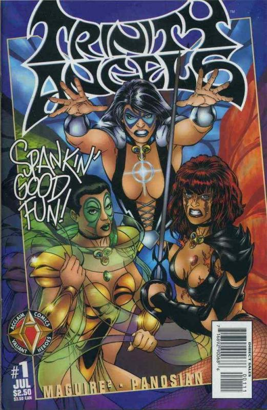 Trinity Angels #1 VF/NM; Acclaim | save on shipping - details inside