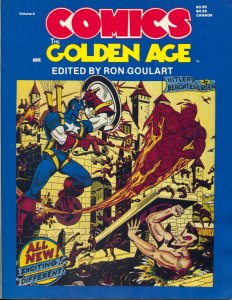 Comics The Golden Age #4 1984-New Media-Ron Goulart-Timely Comics-Kirby-G