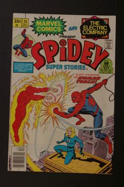 Spidey Super Stories #20 Dec 1976 Marvel & Electric Company