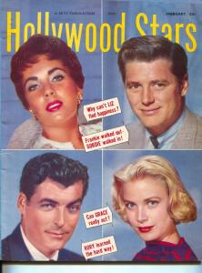Hollywood Stars-Liz Taylor-Grace Kelly-Rory Calhoun-Liz Taylor-Frank Sinatra-Feb