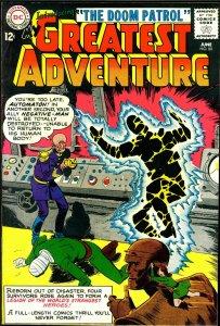 My Greatest Adventure 80 Apparent FN-VF, Doom Patrol 86 (#1) Nice Looking Copies