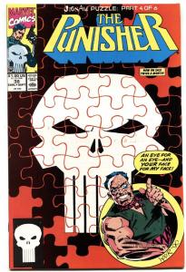 Punisher #38 1990 Marvel Jigsaw issue-comic book