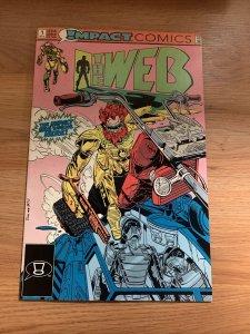 The Web #1 - DC Comics (Impact Comics) September 1991