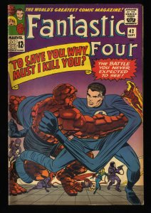 Fantastic Four #42 VG+ 4.5