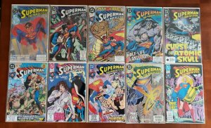SUPERMAN THE MAN OF STEEL 1 - 83 + 6 ANNUALS - 90s DC