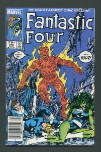 Fantastic Four #289 / 9.6 NM+  Newsstand  April 1986