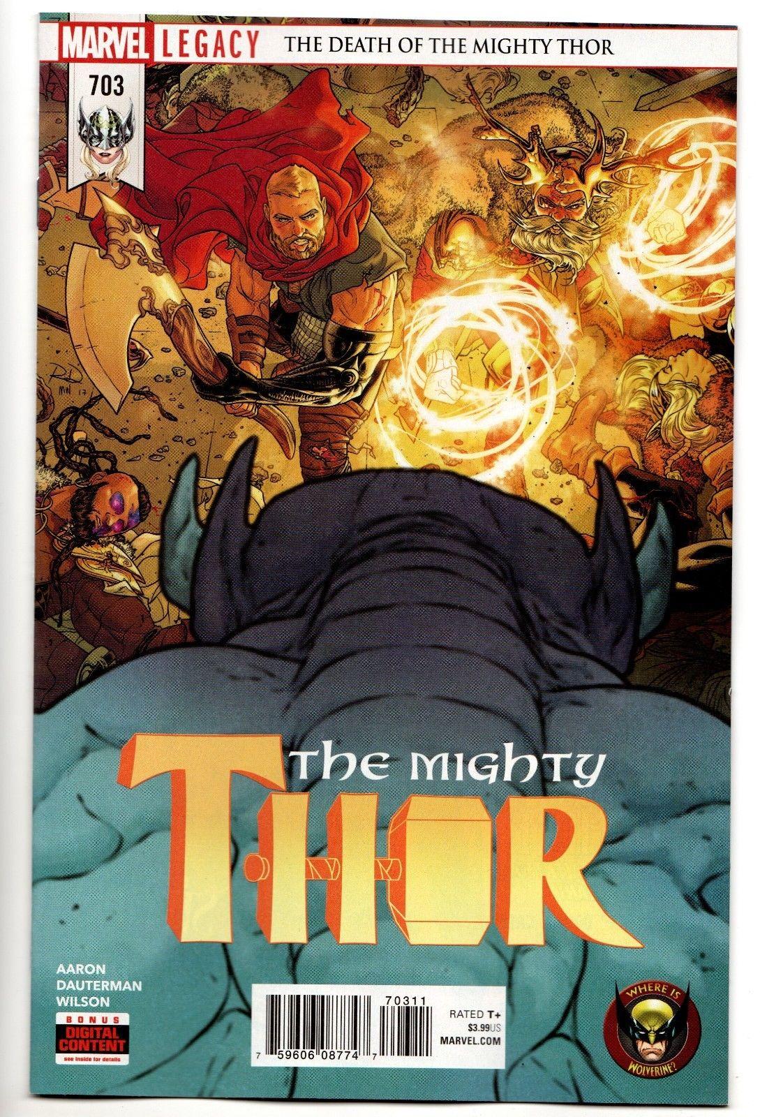 Thor #1 NM Aaron 2018