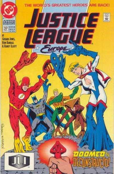 Justice League Europe #37, NM- (Stock photo)