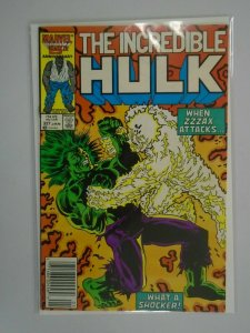 Incredible Hulk #327 Newsstand edition 5.0 VG FN (1987 1st Series)